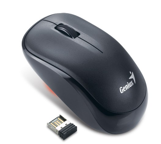 Genius Black 2.4Ghz Wireless Optical Mouse, Model Traveler 6000Z - Retail at Sears.com